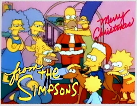 Greatest Christmas TV Episode Ever: Simpsons Roasting on an Open ...