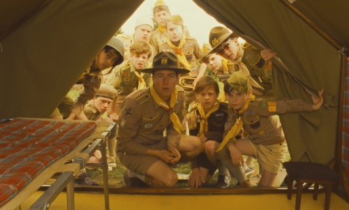 Moonrise Kingdom is one of the ten films mentioned