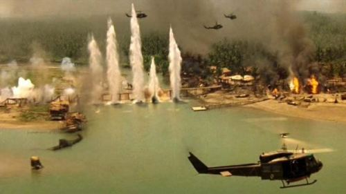 Apocalypse Now is by far, in my opinion, the greatest war movie