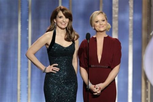 Tina Fey and Amy Poehler give the best hosting job I've seen in years