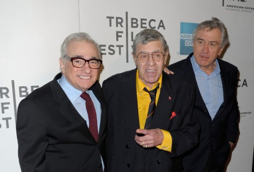 Scorsese, De Niro, and Lewis all showed up at the screening